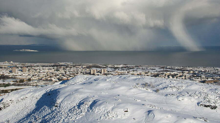 Snowstorm on the Firth of Firth
