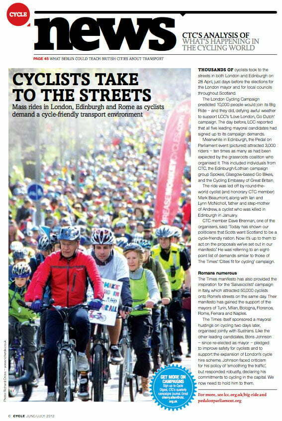 Cycle - CTC Magazine, May 2012